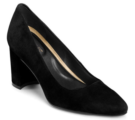 Aerosoles x Martha Stewart Suede Pumps - Bette