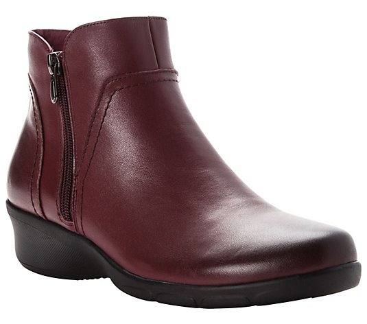 Propet Women's Leather Zip Boots - Waverly