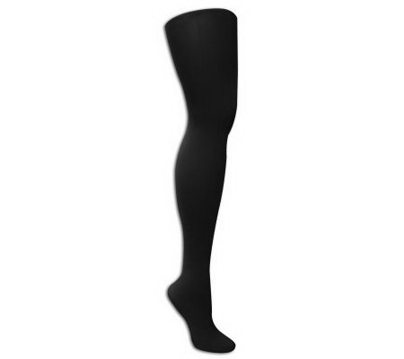 MUK LUKS Microfiber Herringbone Tights