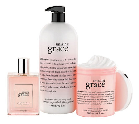 philosophy super-size embrace love and grace fragrance trio