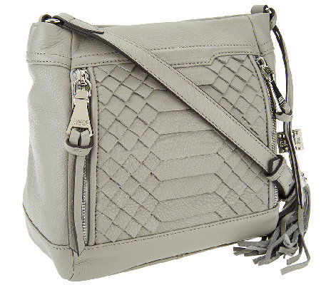 Aimee Kestenberg Pebble Leather Crossbody - Bryon