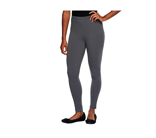 Women with Control Knit Pull-on Leggings