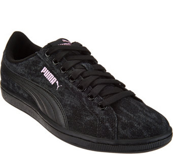 PUMA Denim Lace-up Sneakers - Vikky Denim - A294105 ed98d4ef7