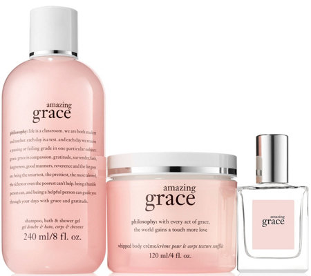 philosophy introduction to grace & love fragrance trio