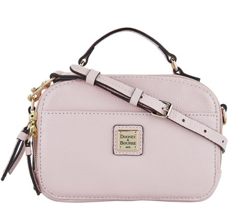"""As Is"" Dooney & Bourke Belvedere Leather Crossbody"