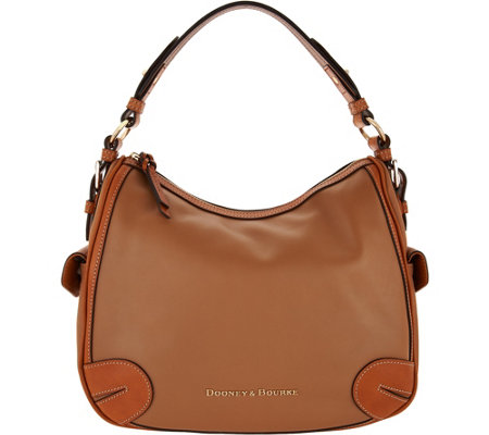 """As Is"" Dooney & Bourke City Side Pocket Hobo"
