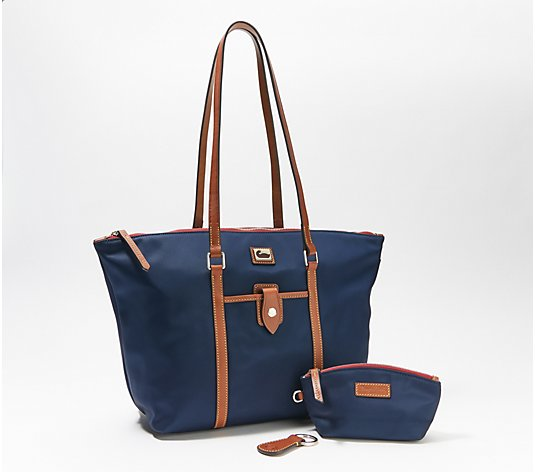 Dooney & Bourke Wayfarer Nylon Tote with Accessories