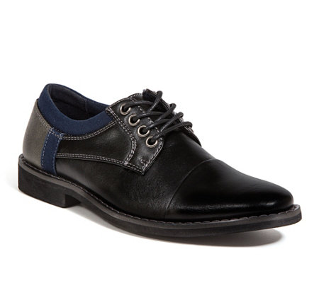 Deer Stags Kid's Comfort Oxfords - Truckee Jr