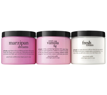 philosophy super-size body souffle dreamy trio