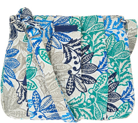 """As Is"" Vera Bradley Signature Print Hadley Crossbody"