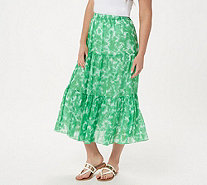 Linea by Louis Dell'Olio Tie Dye Boho Skirt - A306906