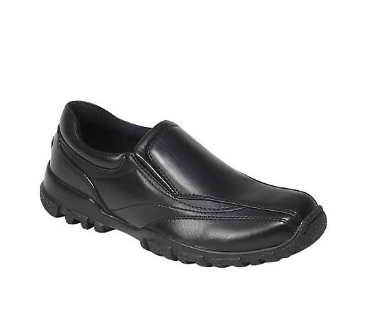 Deer Stags Boy's Casual Twin Gore Slip On Shoes- Recess