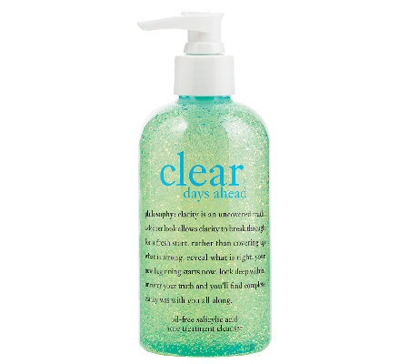 philosophy clear days ahead deep cleansing gel,8 oz