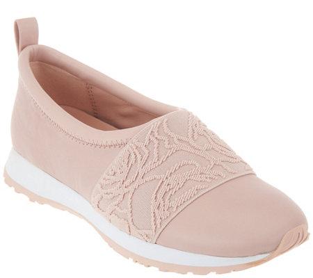 e0bea254483b Taryn Rose Leather Slip-on Shoes - Charlotte - Page 1 — QVC.com