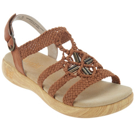 """As Is"" Alegria Braided Detail Sandals- Jena"
