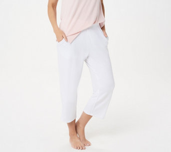 Belle by Kim Gravel Lovabelle Lounge Cropped Pants - A351606