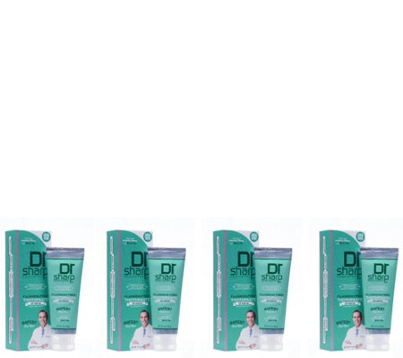 Dr. Sharp Adult Smile Tootpaste 4-Pack