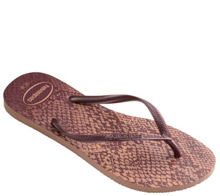 Havaianas Flip Flop Sandals - Sim Animals