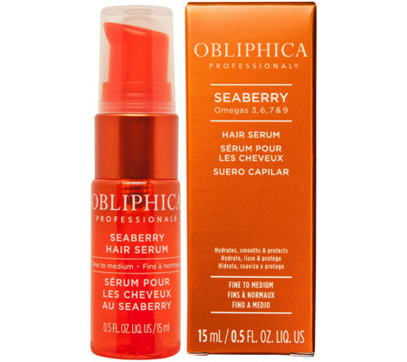 Obliphica Seaberry Hair Serum0.5 oz