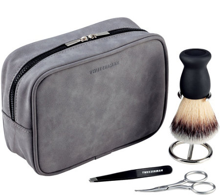 Tweezerman Gift Him GEAR Facial Grooming Set