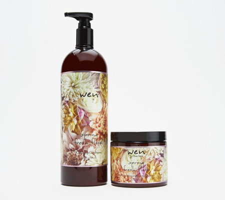 WEN by Chaz Dean Spring Cleansing Conditioner w/ Body Treatment