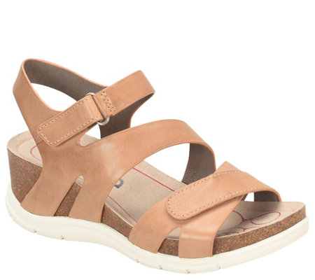 Bionica Leather Sandals - Passion