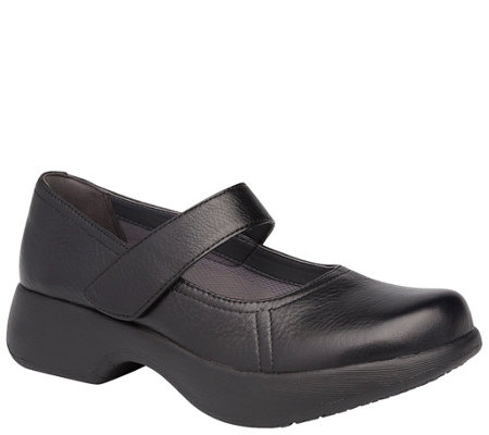 Dansko Leather Mary Janes - Willa