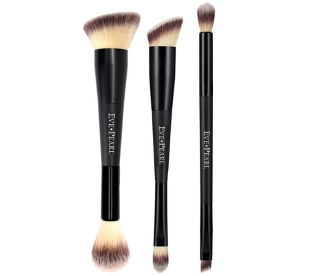 Eve Pearl 3 Piece Dual Brush Kit