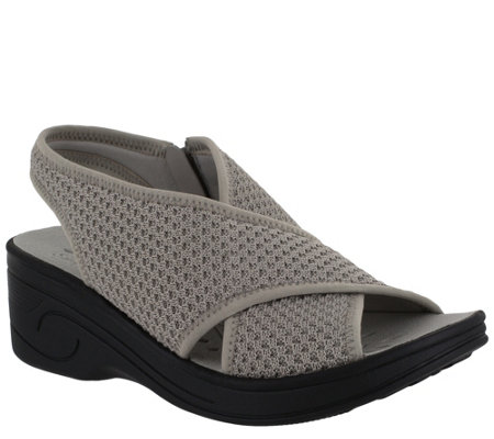 SoLite by Easy Street Mesh Comfort Sandals - Jolly