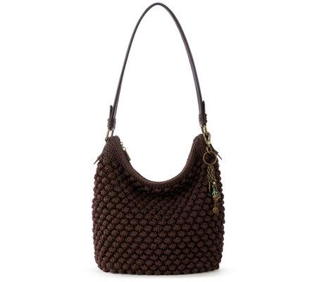 The Sak Sequoia Crochet Hobo Bag Qvccom