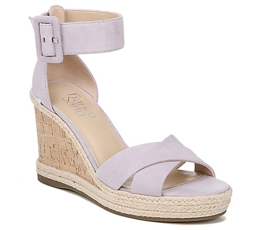 Franco Sarto Espadrille Wedge Sandals - Quintana