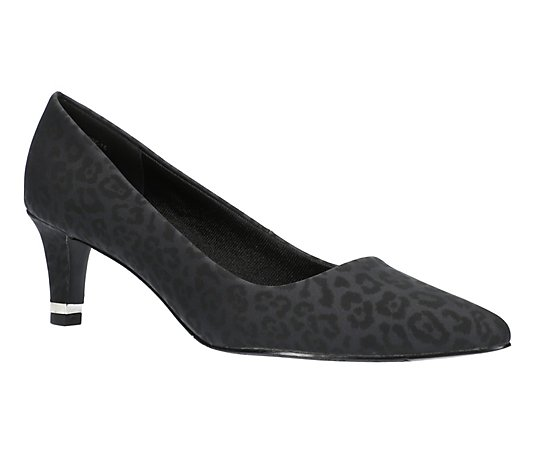 Easy Street Heel Rand Pumps - Pointed