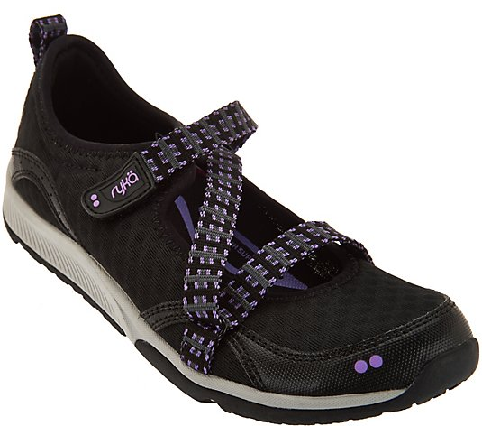 Ryka Adjustable Mesh Mary Jane Sneakers - Kailee