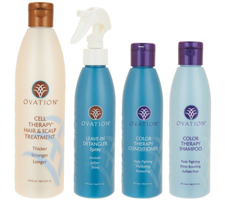Ovation Cell Therapy 4-piece Hair Care Set