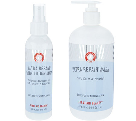 First Aid Beauty Ultra Repair Wash & Mist Duo