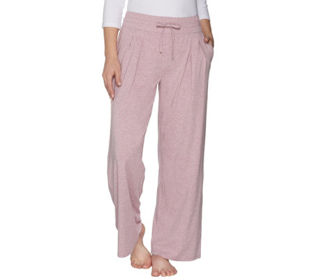AnyBody Loungewear Cozy Knit Petite Relaxed Pants