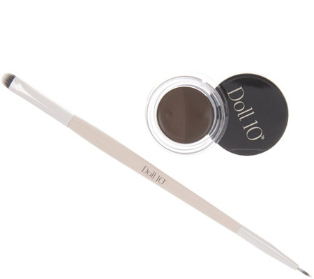 Doll 10 Split Decision Gel Eyeliner W Brush