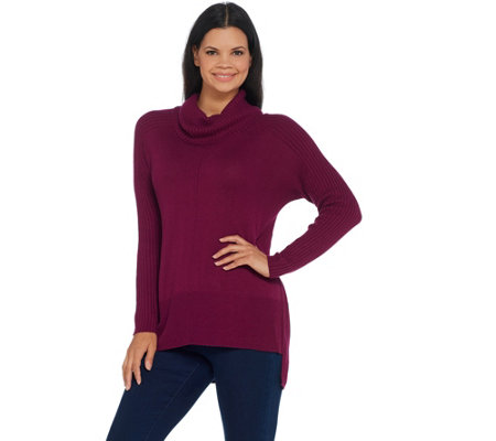 Laurie Felt Cashmere Blend Turtleneck Sweater