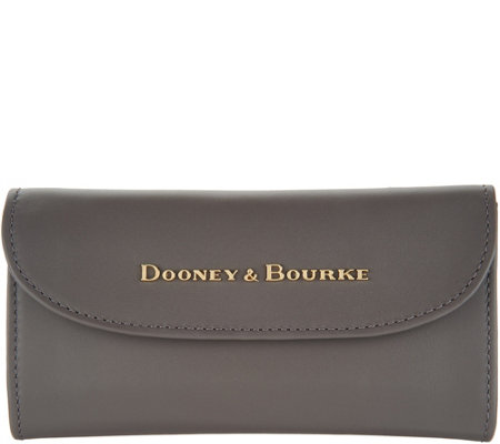 """As Is"" Dooney & Bourke City Leather Continental Clutch"