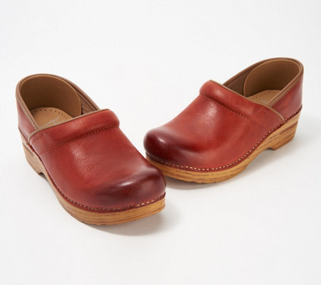 Dansko Professional Burnished Clogs