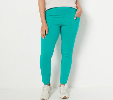 Wicked by Women with Control Tall Ankle Pants with Pockets