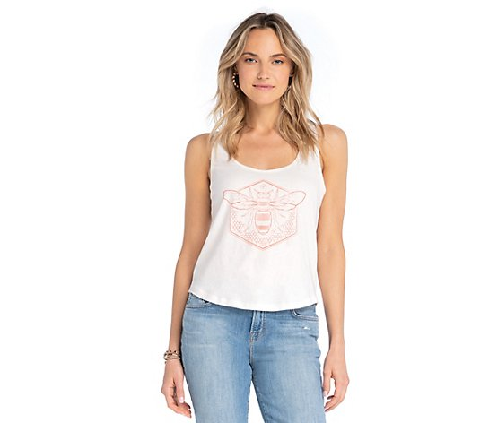 Synergy Honey Bee Cropped Knit Tank