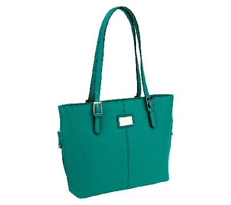 Tignanello Saffiano Leather Clean Classic Tote Bag