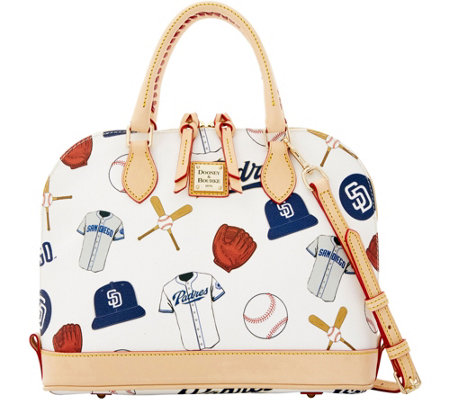 Dooney & Bourke MLB Padres Zip Zip Satchel