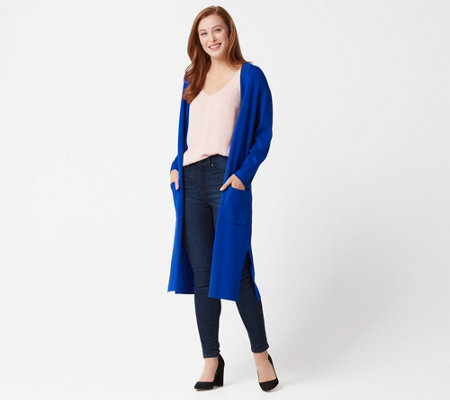 Linea by Louis Dell'Olio Whisper Knit Long Cardigan