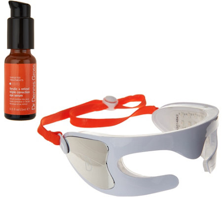 Dr. Gross Spectralite Eyecare Pro Device with F&R Eye Serum