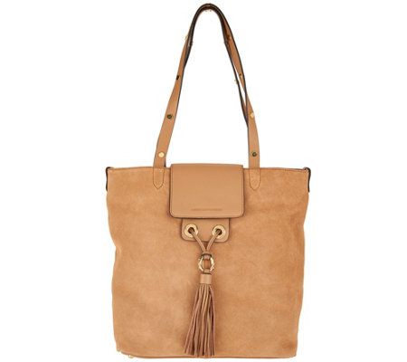"""As Is"" Aimee Kestenberg Leather Tote Bag - Greenpoint"