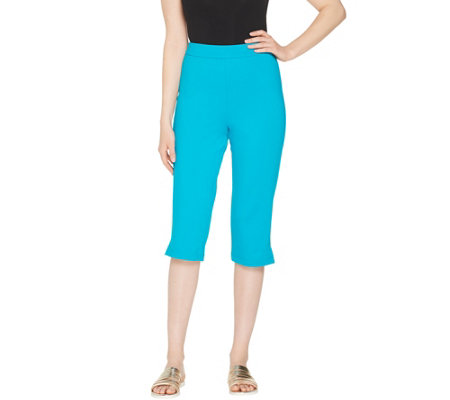 Joan Rivers Petite Joan's Signature Pull-On Capri Pants