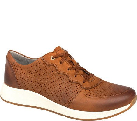 Dansko Lace-Up Leather Sneakers - Christina