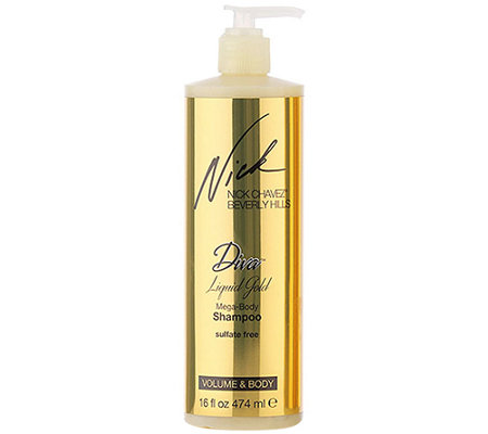 Nick Chavez Diva Liquid Gold Mega Body Shampoo
